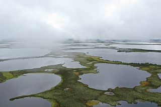TSU scientists made a film about disappearing lakes in the permafrost