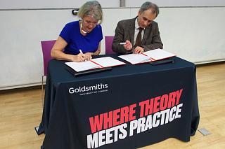 To built bridges with Goldsmiths, University of London